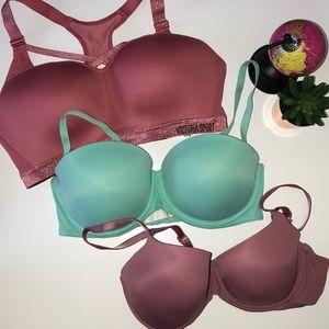 Bundle of 3 Victoria Secret Bras